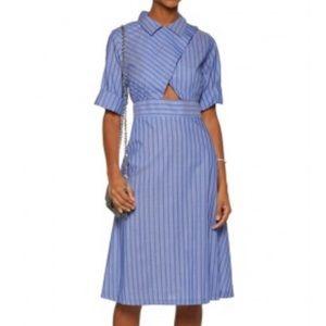 Sandro Robyn Cutout Dress